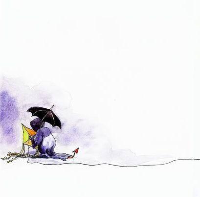 几米漫画《向左走,向右走》 - 一個人的世界 - mlf-sart的博客^-^简简单单